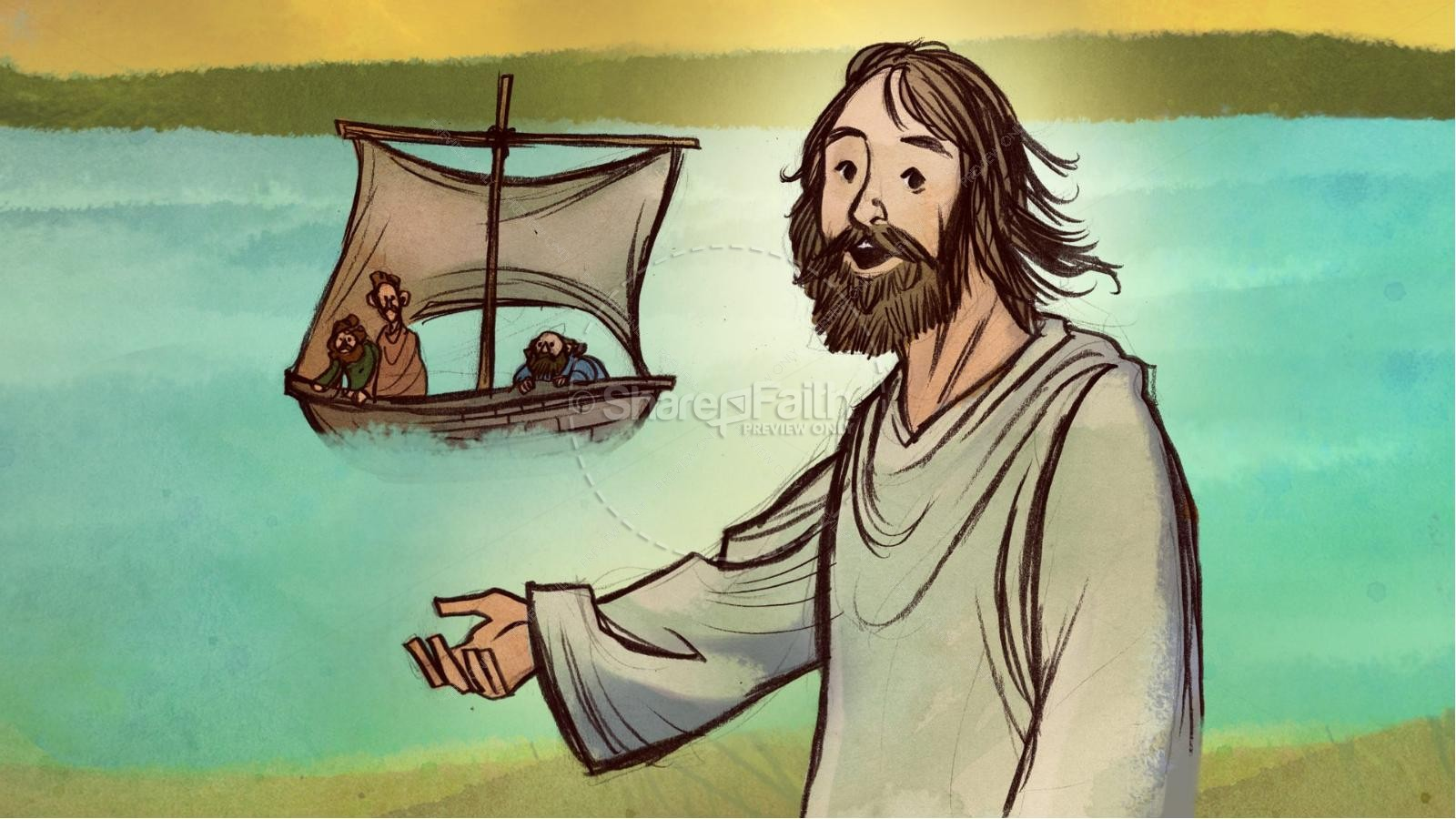 Jesus Chooses His 12 Disciples Kids Bible Story | Kids Bible Stories