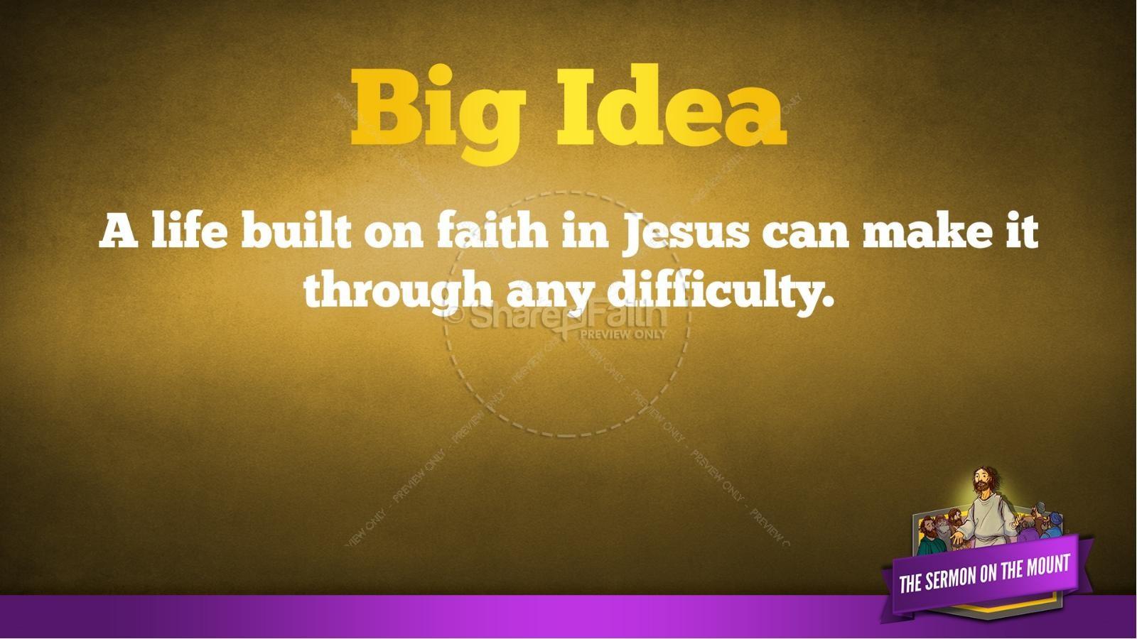 Sermon On the Mount (Beatitudes) Kids Bible Story | Kids Bible Stories