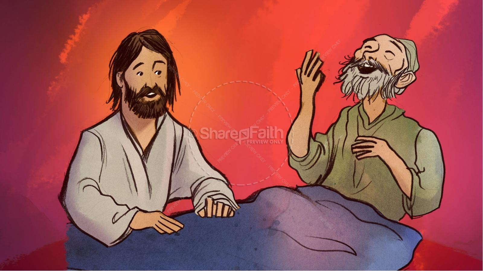 clipart of jesus healing - photo #34