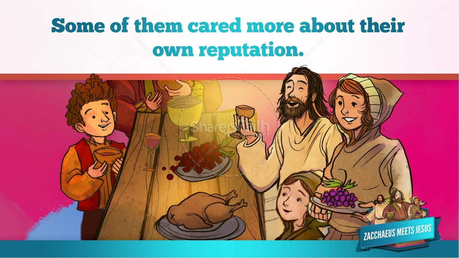 Luke 19 Story of Zacchaeus Kids Bible Lesson | Kids Bible