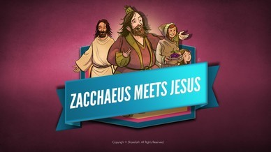 Luke 19 Story of Zacchaeus Bible Video For Kids