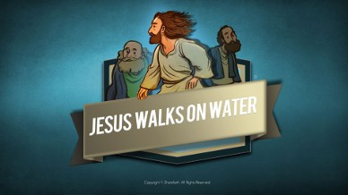 Jesus Walks On Water Bible Video For Kids