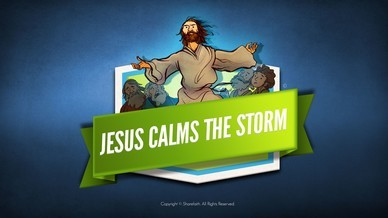Jesus Calms The Storm Bible Video For Kids