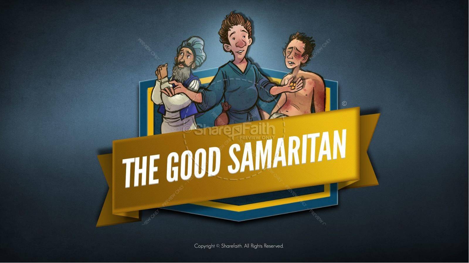 The Good Samaritan Bible Bookmarks Bible Bookmarks