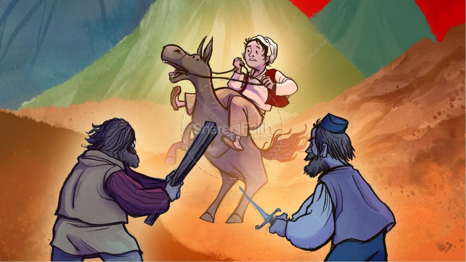 Bible Coloring Pages Good Samaritan Eliolera