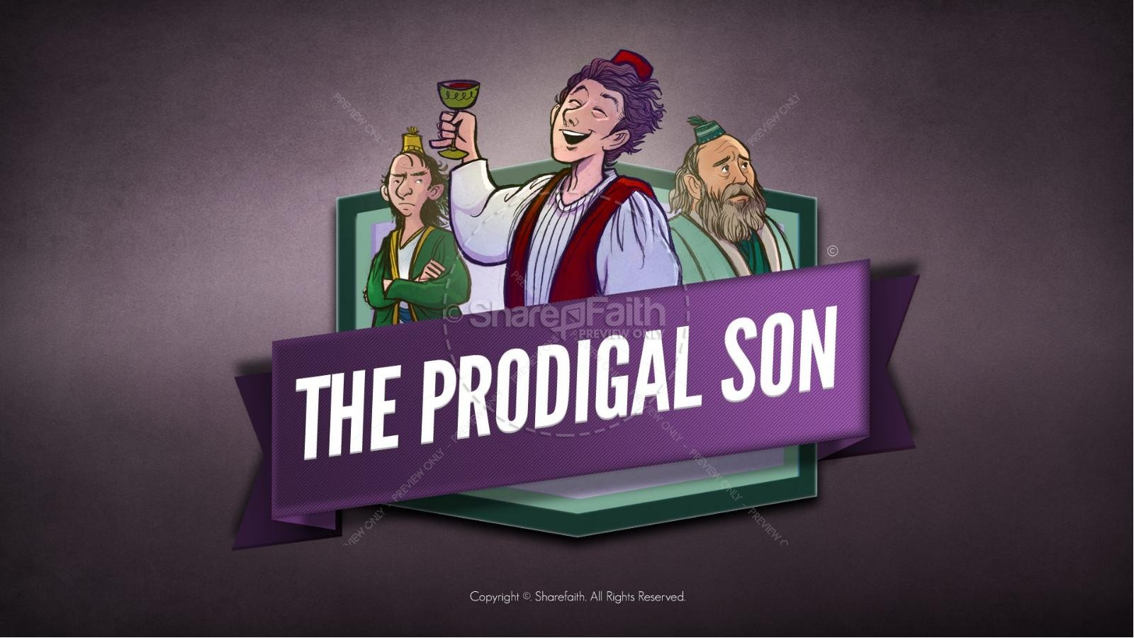 Prodigal son coloring pages for kids - Prodigal Son Coloring Page Pdf Lds The Kids Bible Story