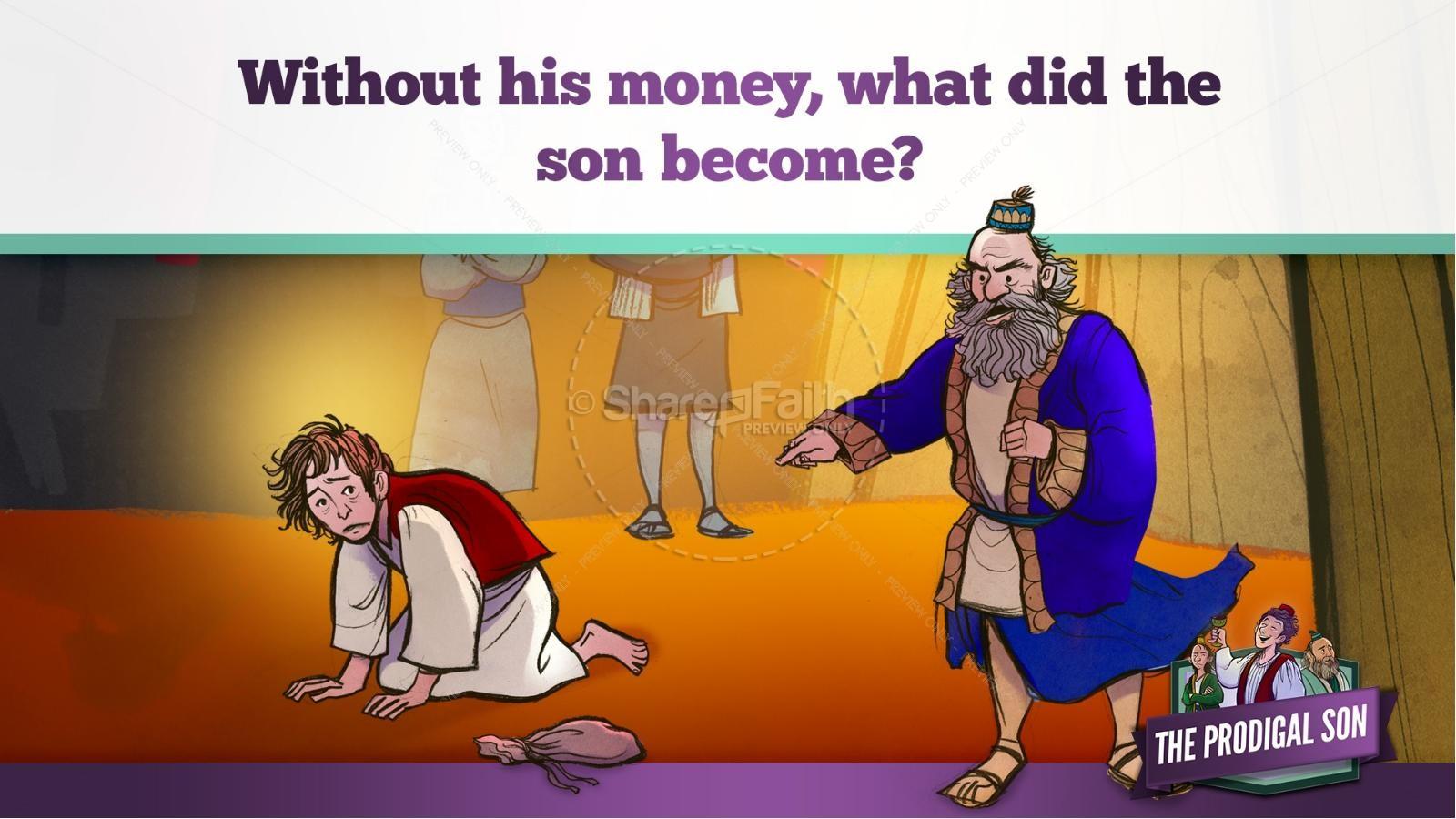the prodigal son kids bible story