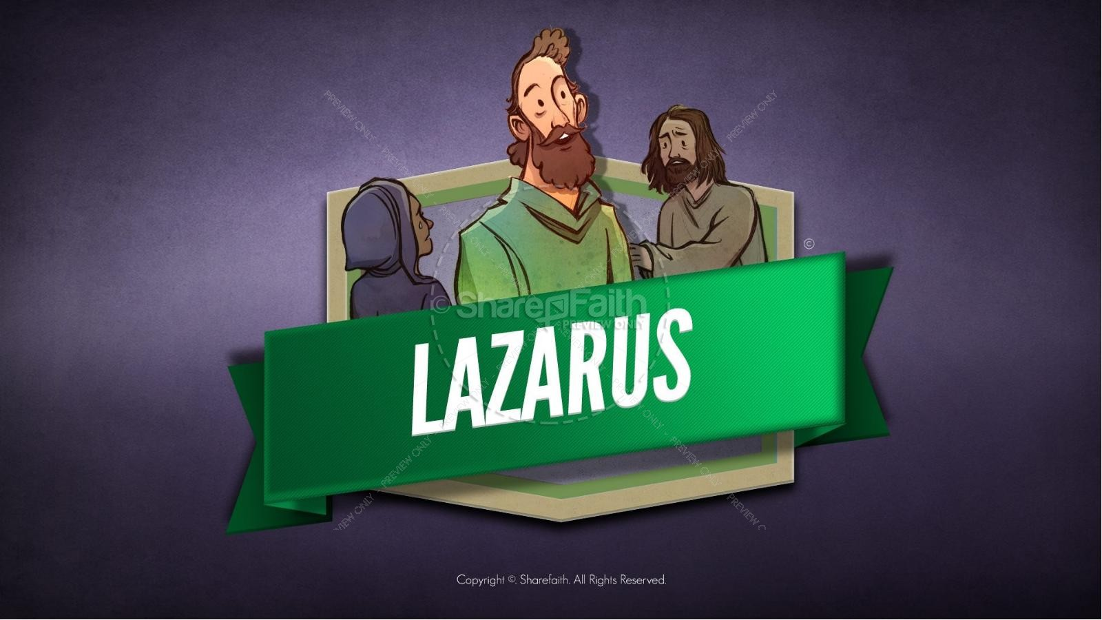 John 11 Lazarus Kids Bible Stories | Kids Bible Stories