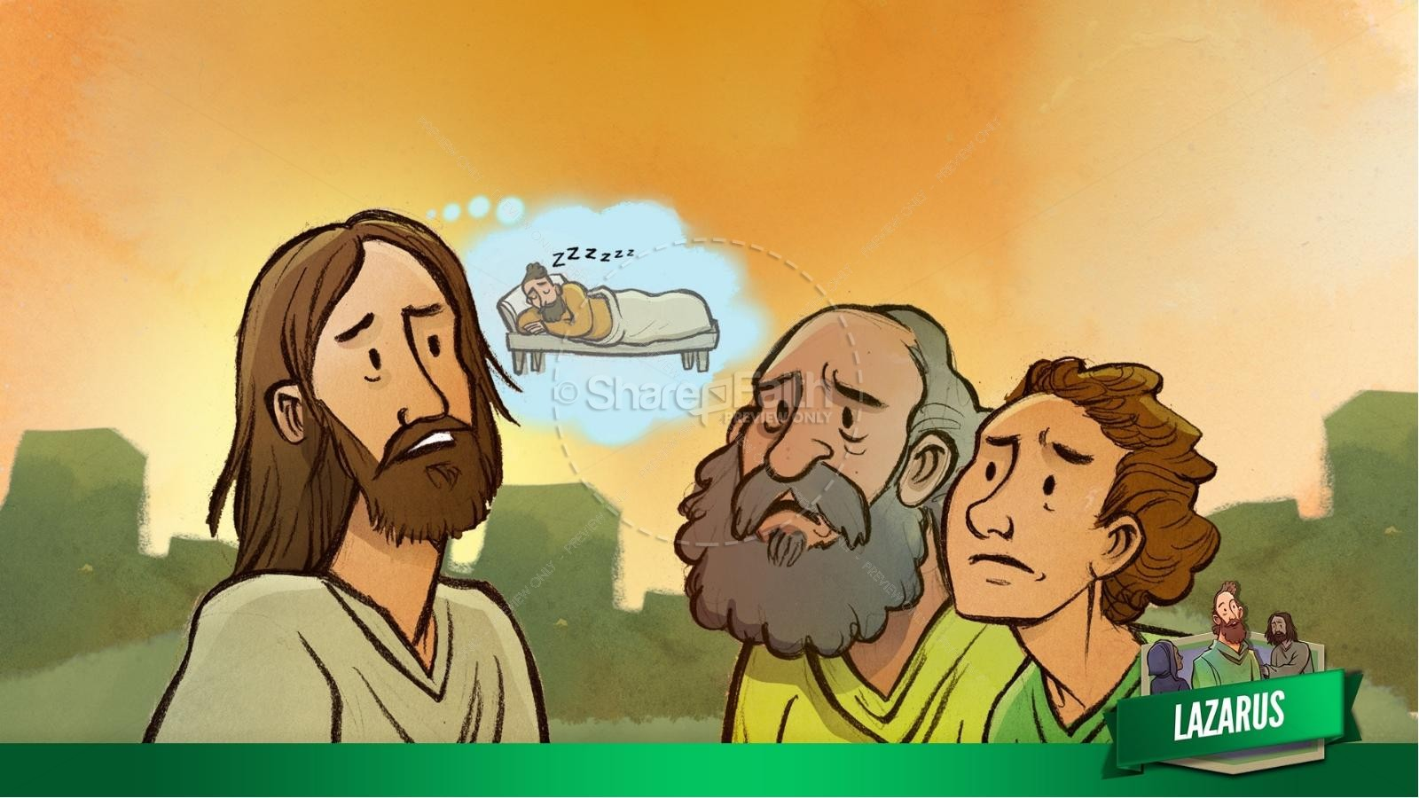John 11 Lazarus Kids Bible Stories