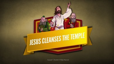 Matthew 21 Jesus Cleanses the Temple Bible Video For Kids