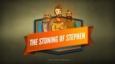 Acts 7 The Stoning of Stephen Bible Video For Kids