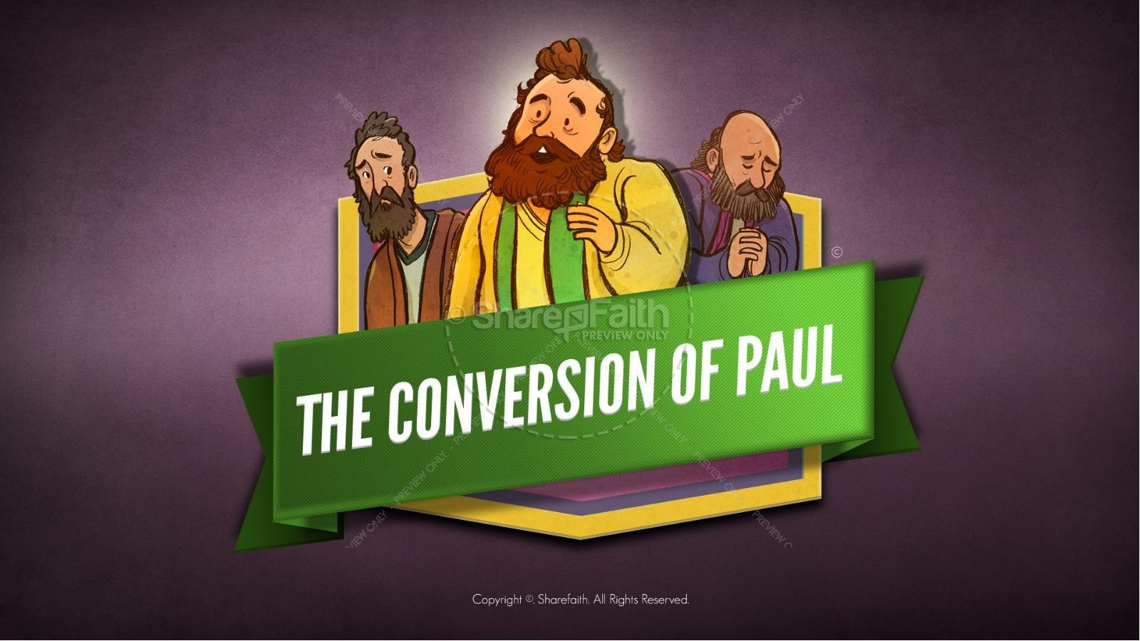 Acts 9 Paul\'s Conversion Bible Video For Kids | Bible Videos For Kids