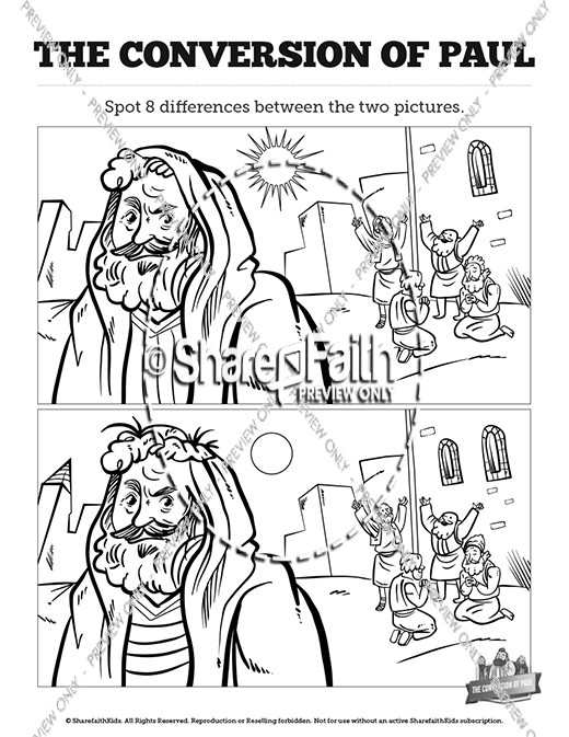 Acts 9 Paul 39 s Conversion Kids Spot