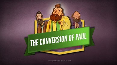 Acts 9 Paul's Conversion Bible Video For Kids
