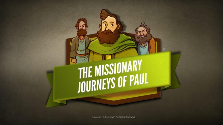 Paul's Missionary Journeys Kids Bible Stories