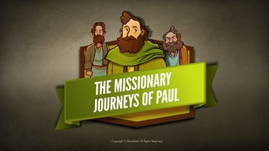 Paul's Missionary Journeys Bible Video For Kids