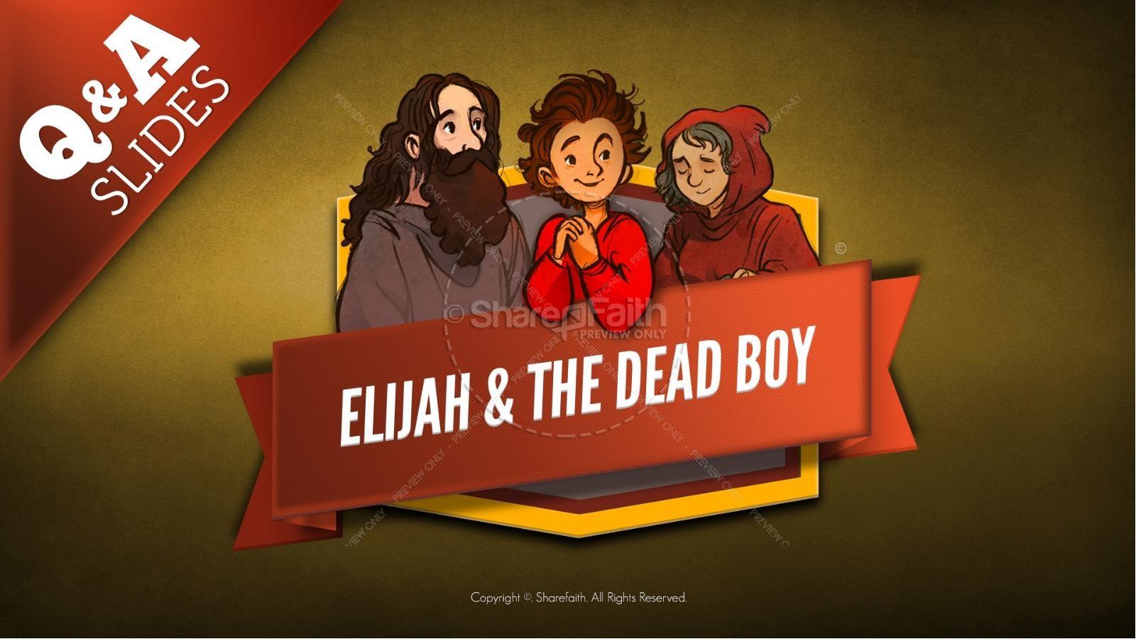 1 Kings 17 Elijah and the Widow Kids Bible Story | slide 9
