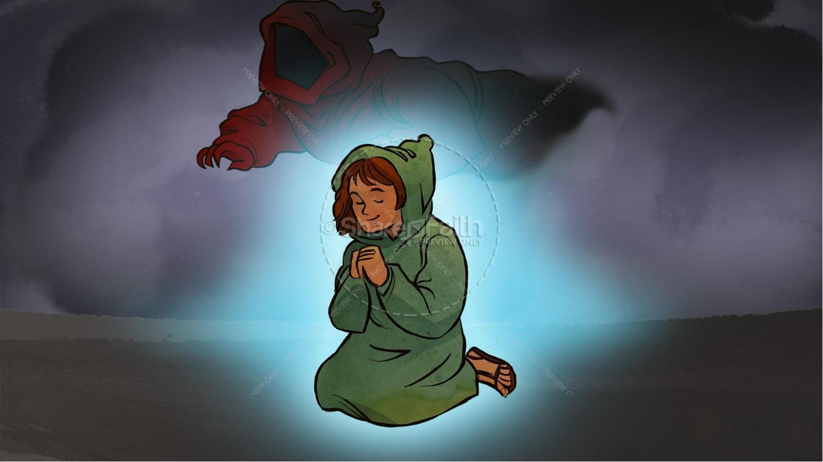 The Lord's Prayer Kids Bible Story | slide 7