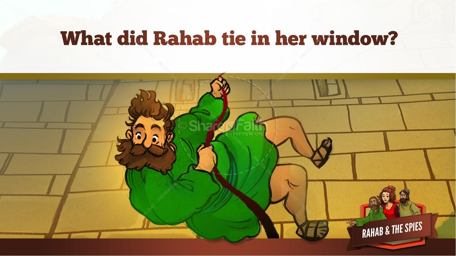 Joshua 2 The Story of Rahab Kids Bible Stories | Kids Bible Stories