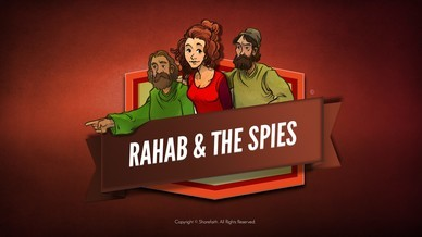 Joshua 2 The Story of Rahab Bible Video For Kids