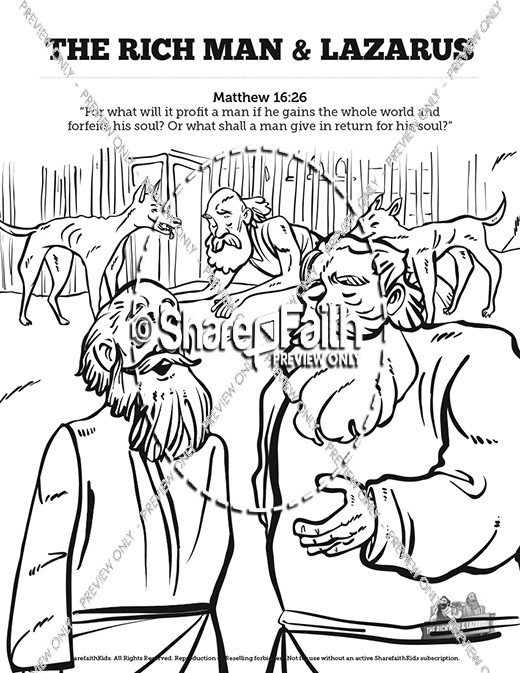 Parable of the Talents coloring page | Free Printable Coloring Pages | 673x520