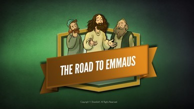 Luke 24 Road to Emmaus Bible Video For Kids