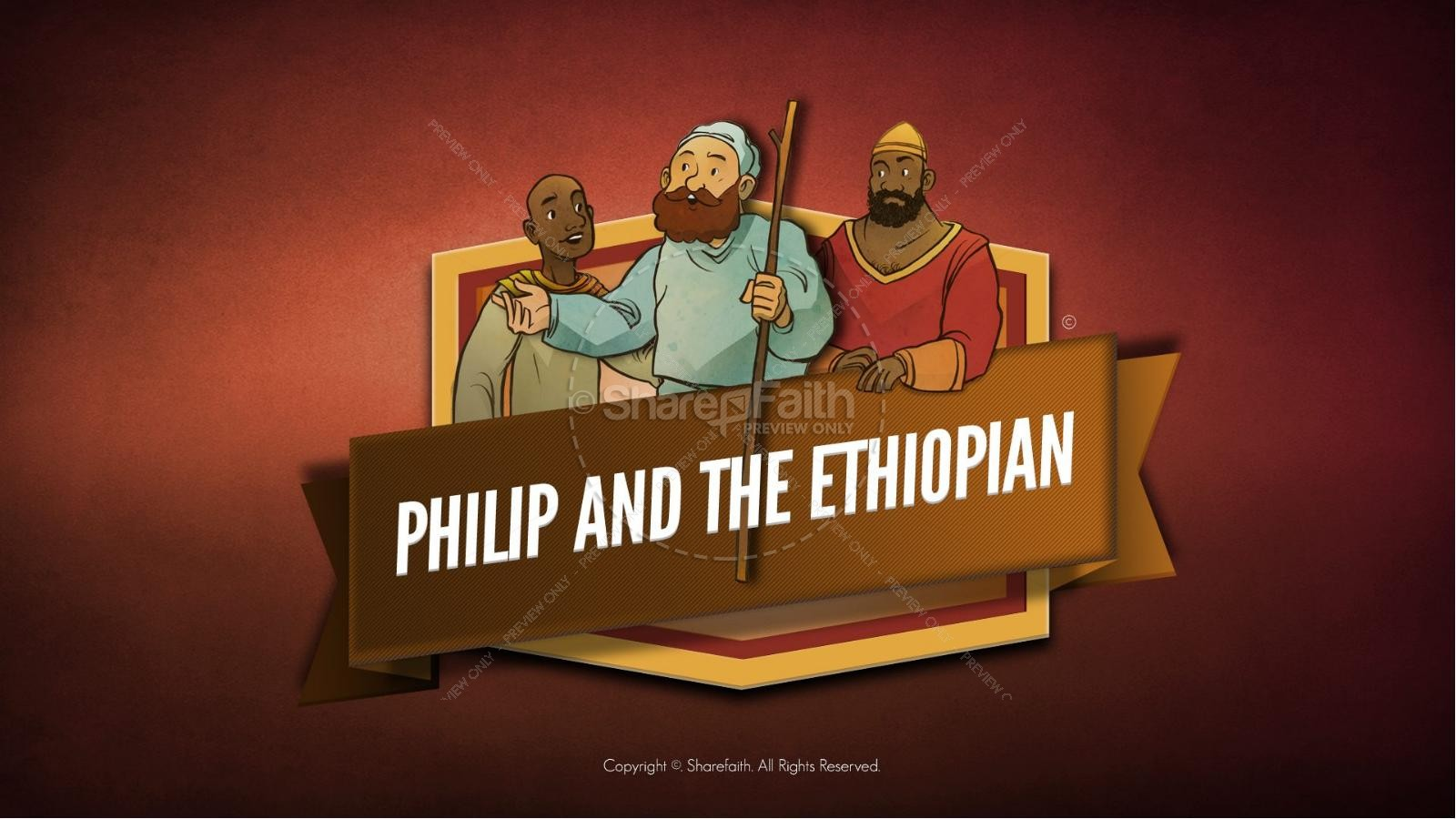 Acts 8 Philip and the Ethiopian Bible Video For Kids | Bible Videos ...