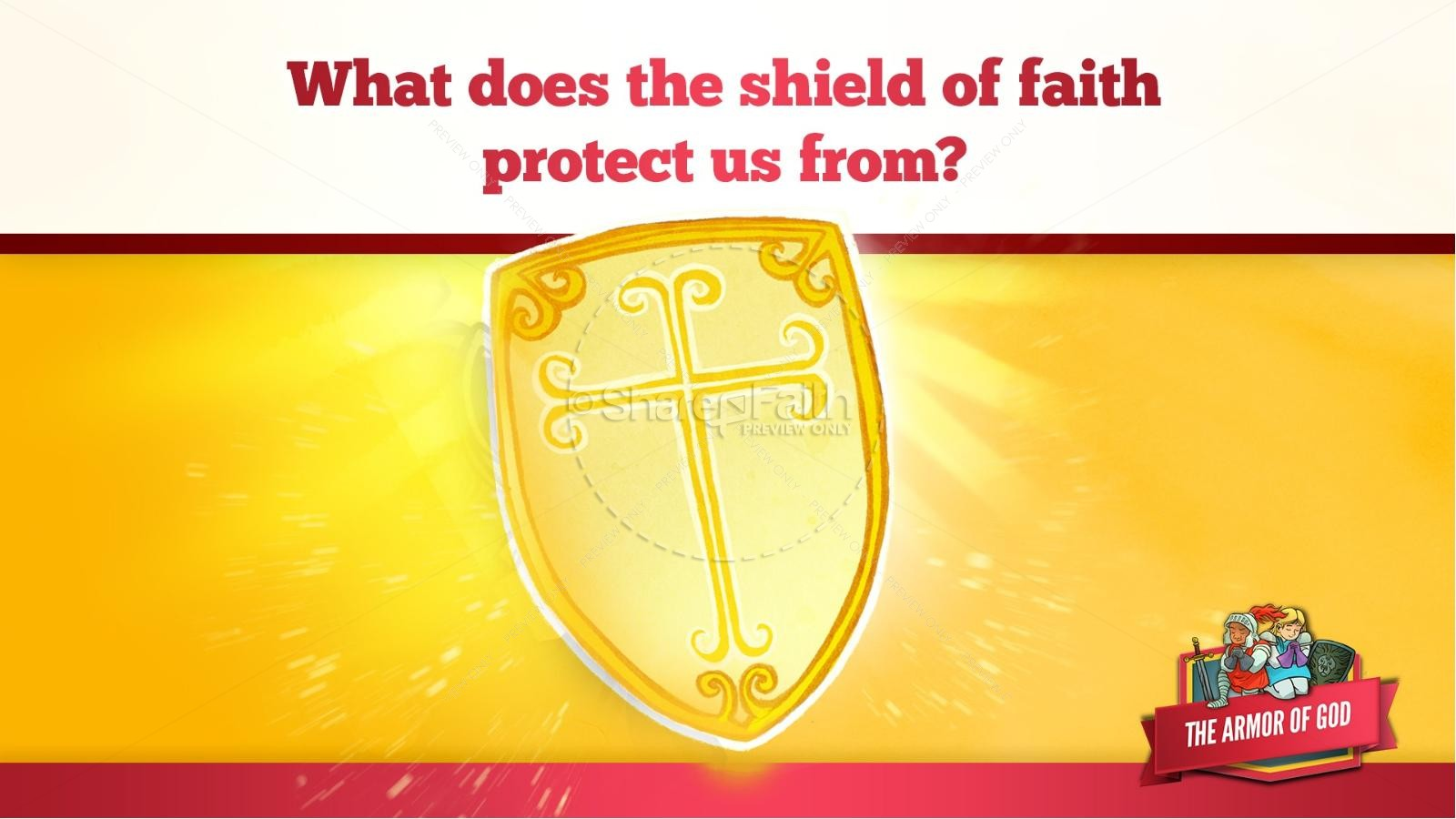 Ephesians 6 The Armor of God Kids Bible Story