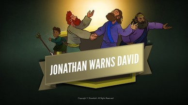 1 Samuel 20 David and Jonathan Bible Video For Kids