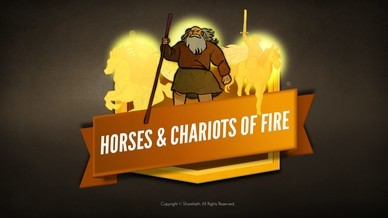 2 Kings 6 Horses and Chariots of Fire Bible Video For Kids