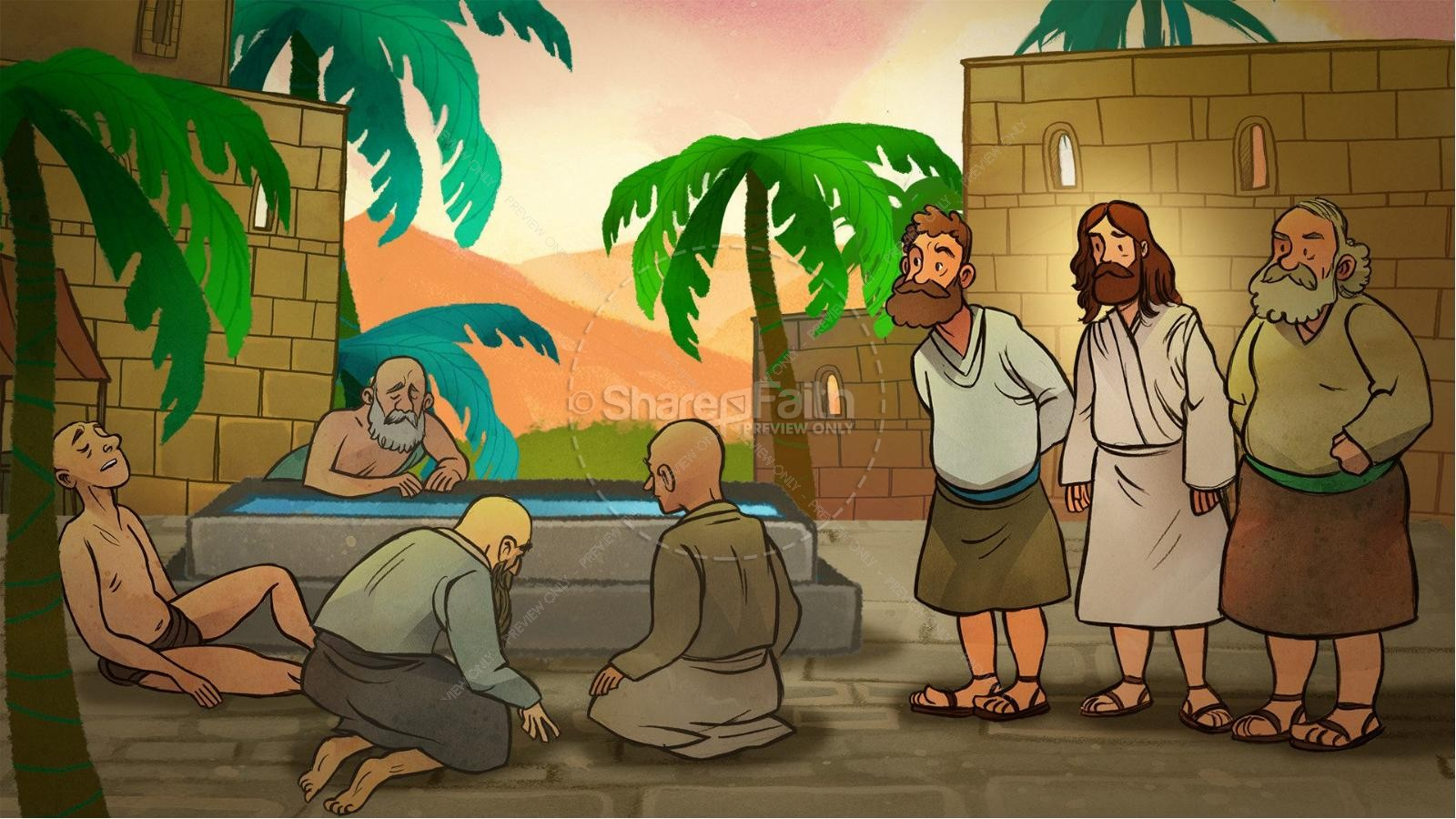 john 5 pool of bethesda kids bible stories kids bible stories
