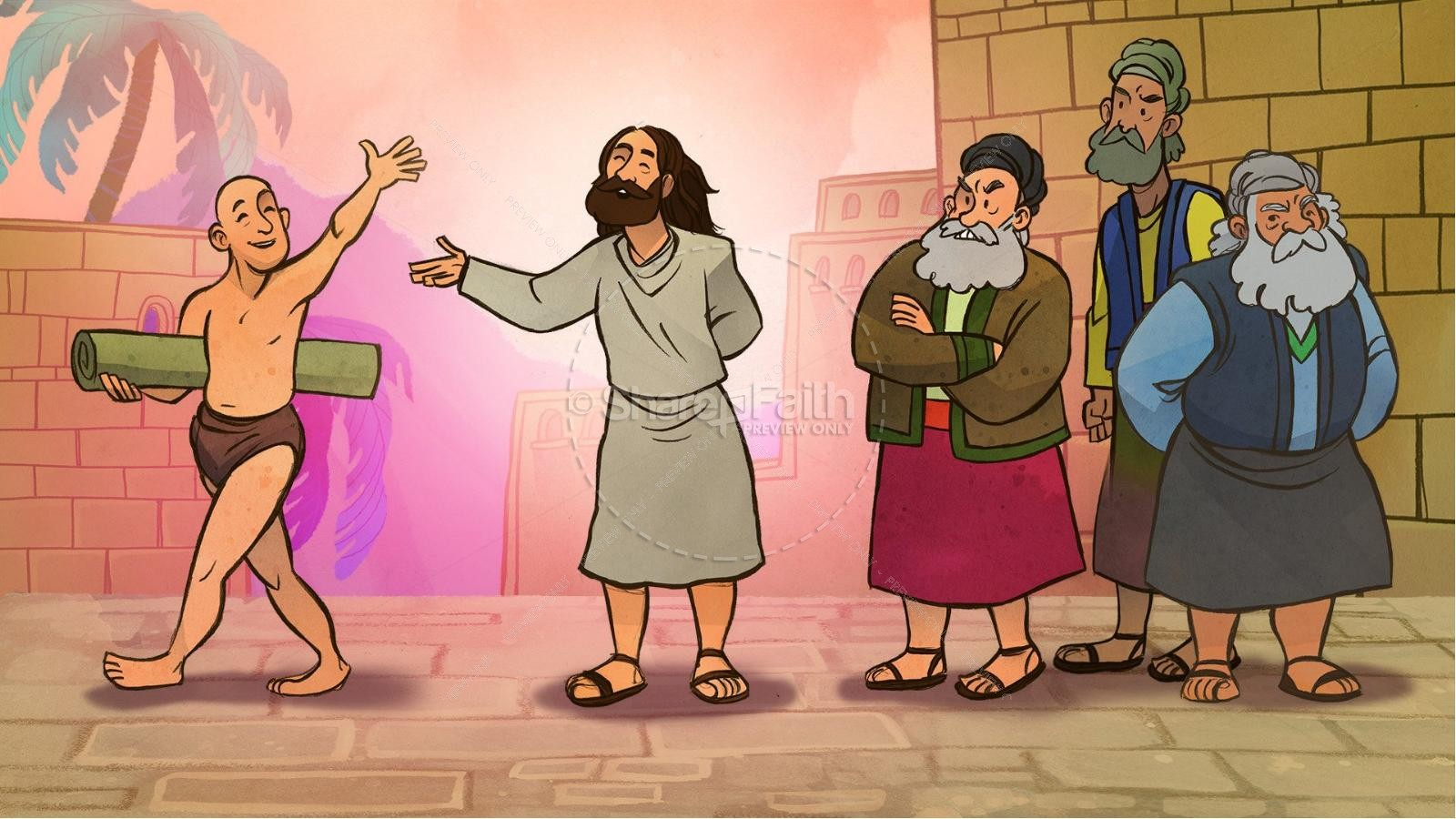John 5 Pool of Bethesda Kids Bible Stories | Kids Bible Stories