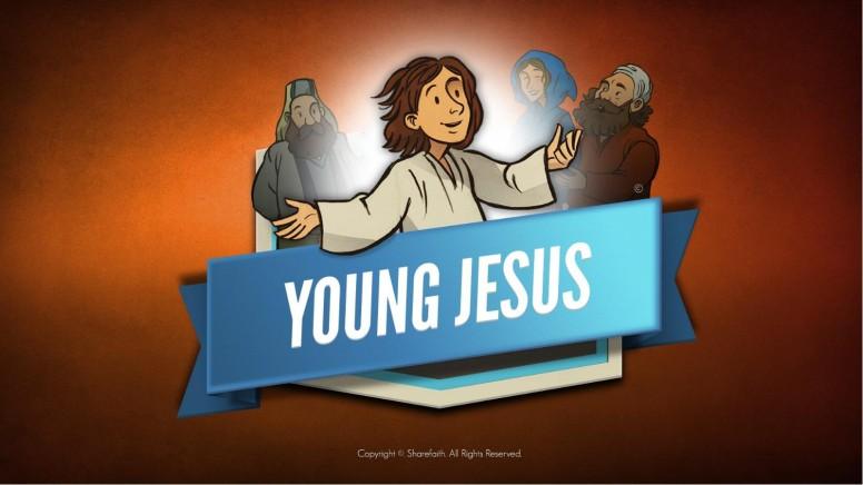 Jesus As A Child Kids Bible Story