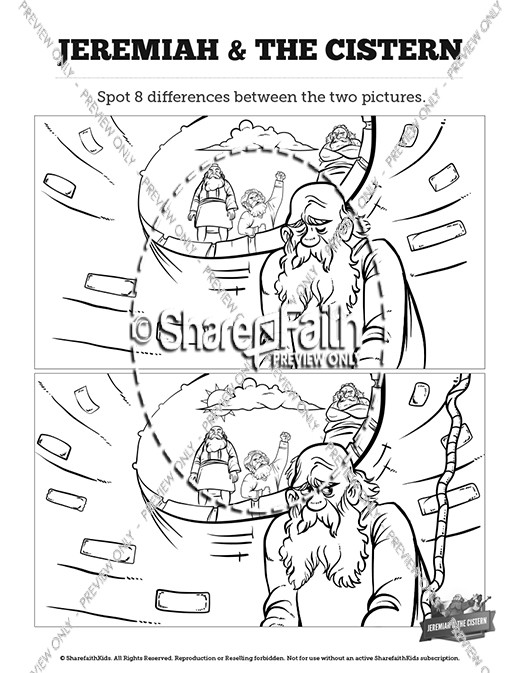 The Prophet Jeremiah Kids Spot The Difference