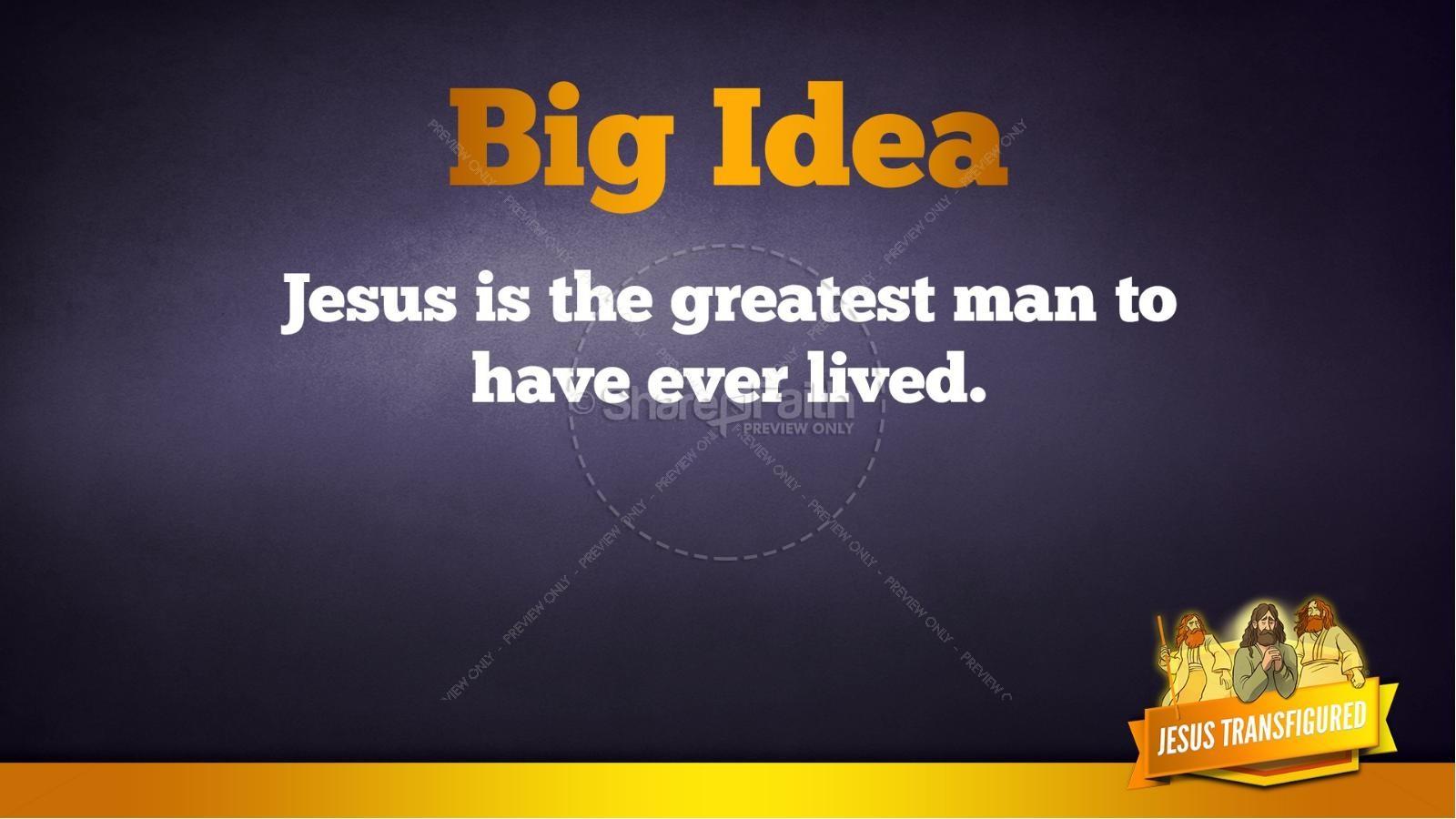 Matthew 17 The Transfiguration Kids Bible Story   slide 33