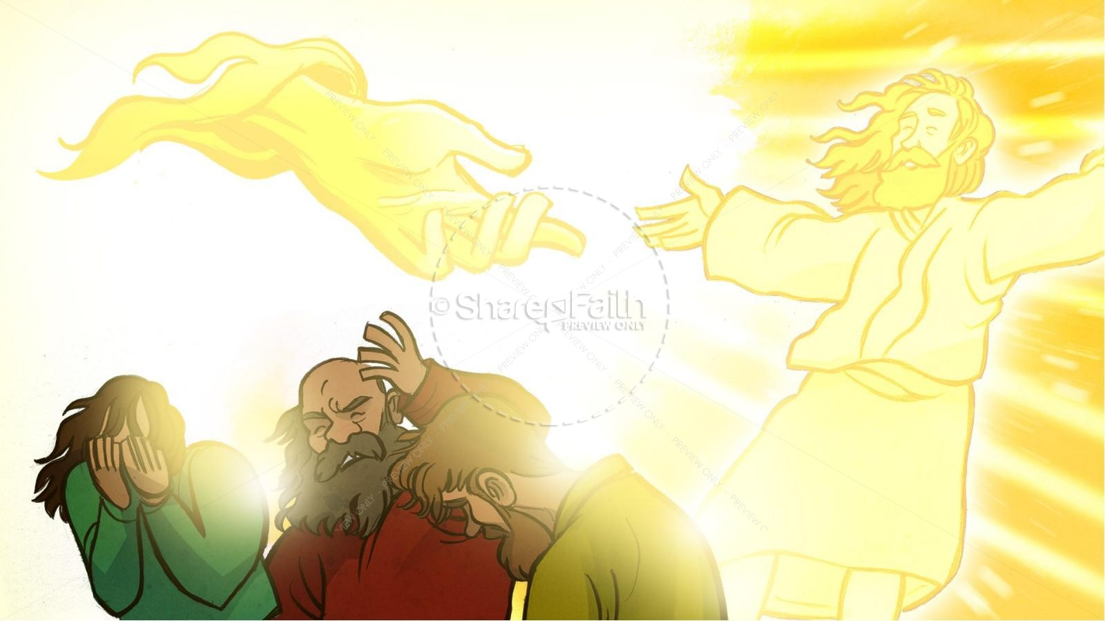 Matthew 17 The Transfiguration Kids Bible Story Kids