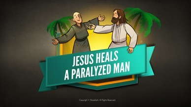 Luke 5 Jesus Heals The Paralytic Bible Video For Kids