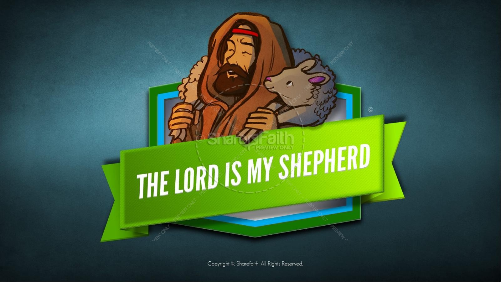 Psalm 23 The Lord Is My Shepherd Bible Video For Kids | Bible Videos ...