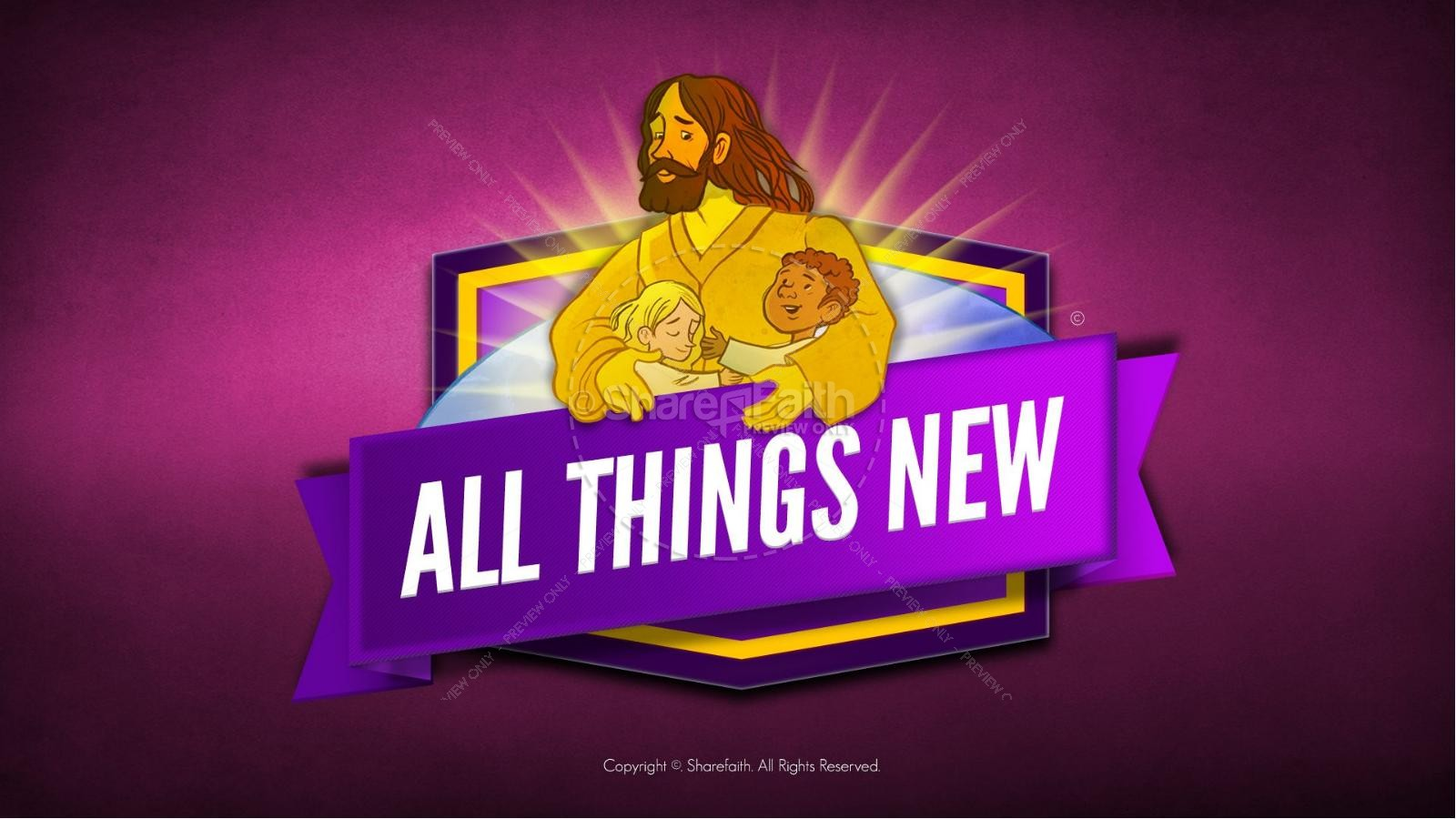 Revelation 21 All Things New Kids Bible Story