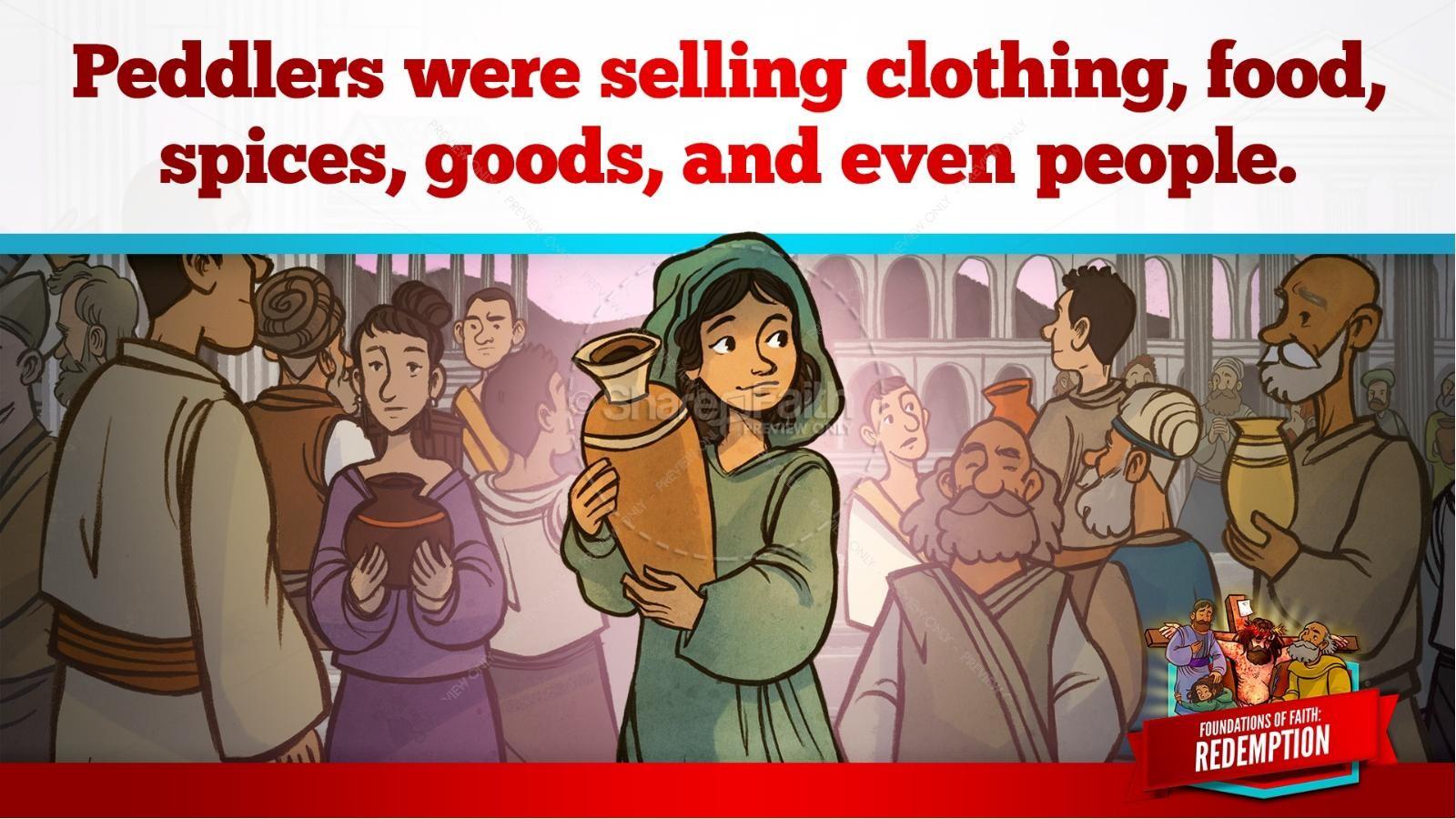 Romans 6 Redemption Kids Bible Story | slide 12