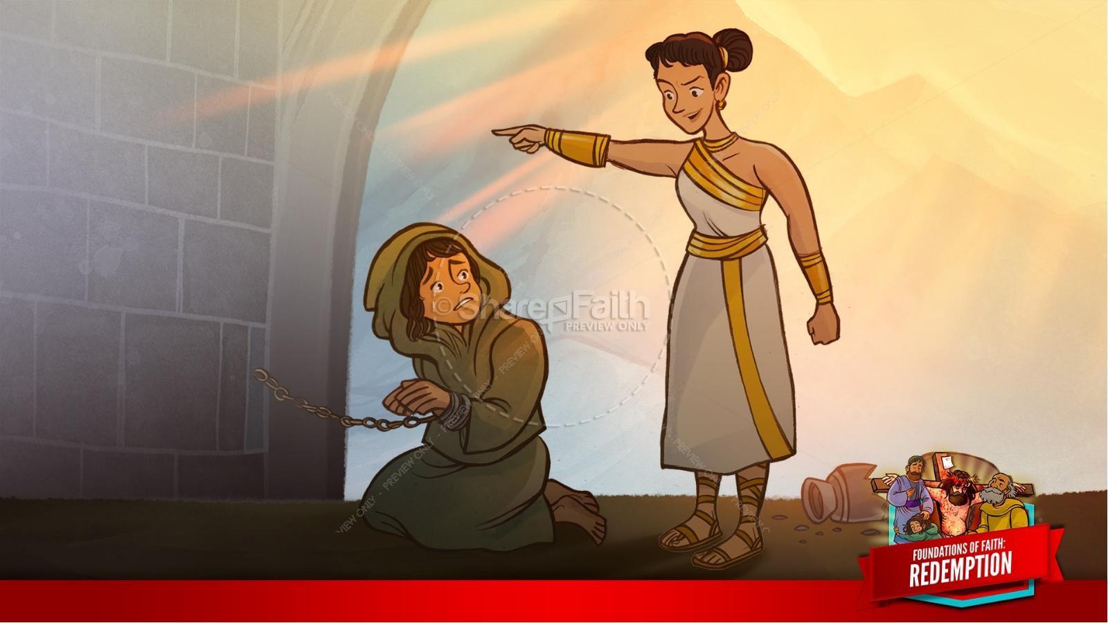 Romans 6 Redemption Kids Bible Story | slide 22