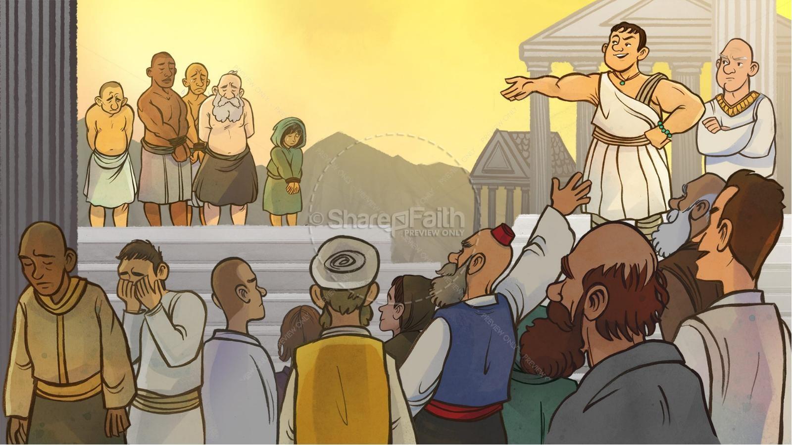 Romans 6 Redemption Kids Bible Story | slide 3