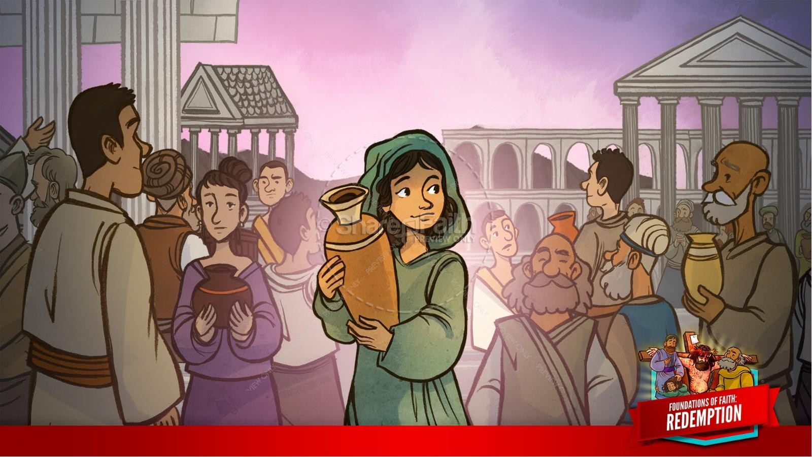 Romans 6 Redemption Kids Bible Story   slide 10