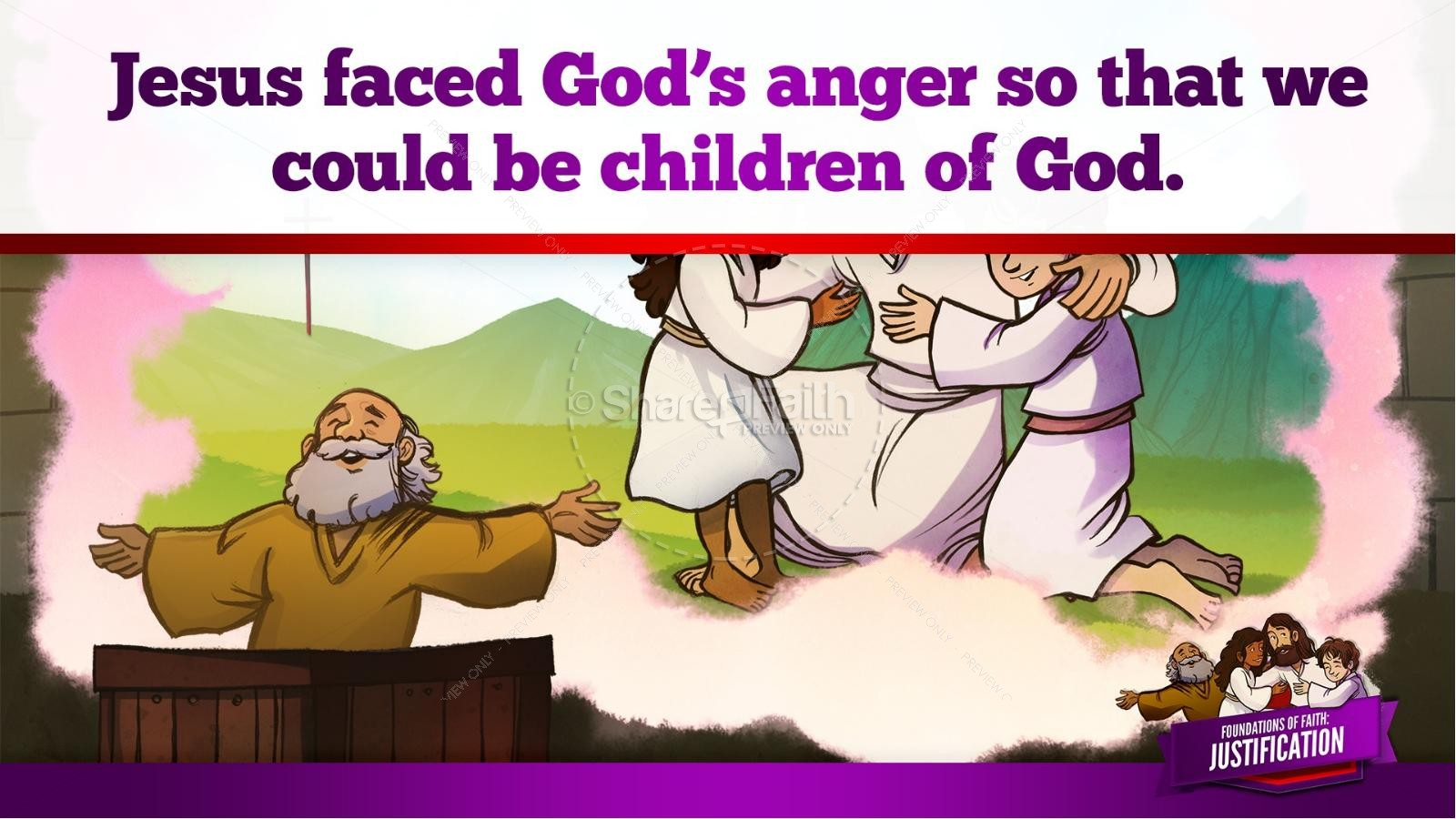 Romans 3 Justification Kids Bible