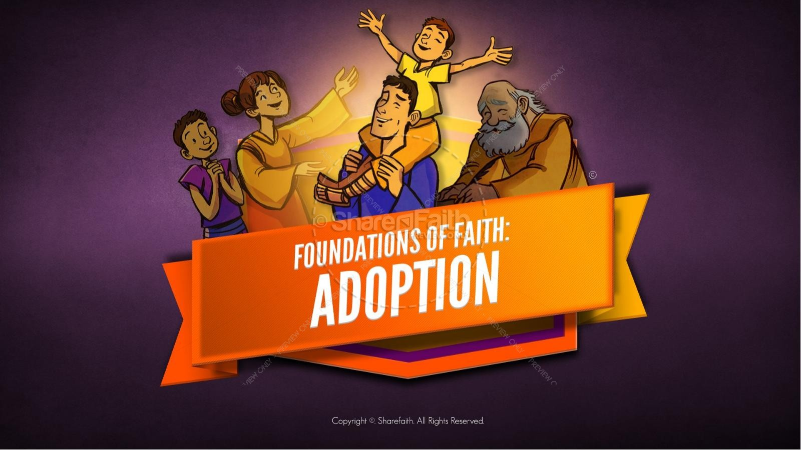 Romans 8 Adoption Kids Bible Stories