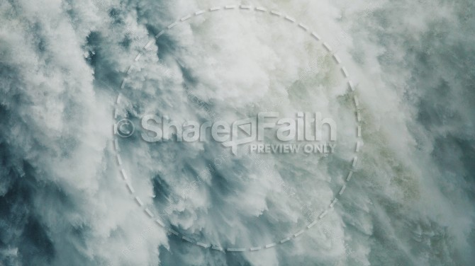 Snow Avalanche Nature Religious Stock Photo