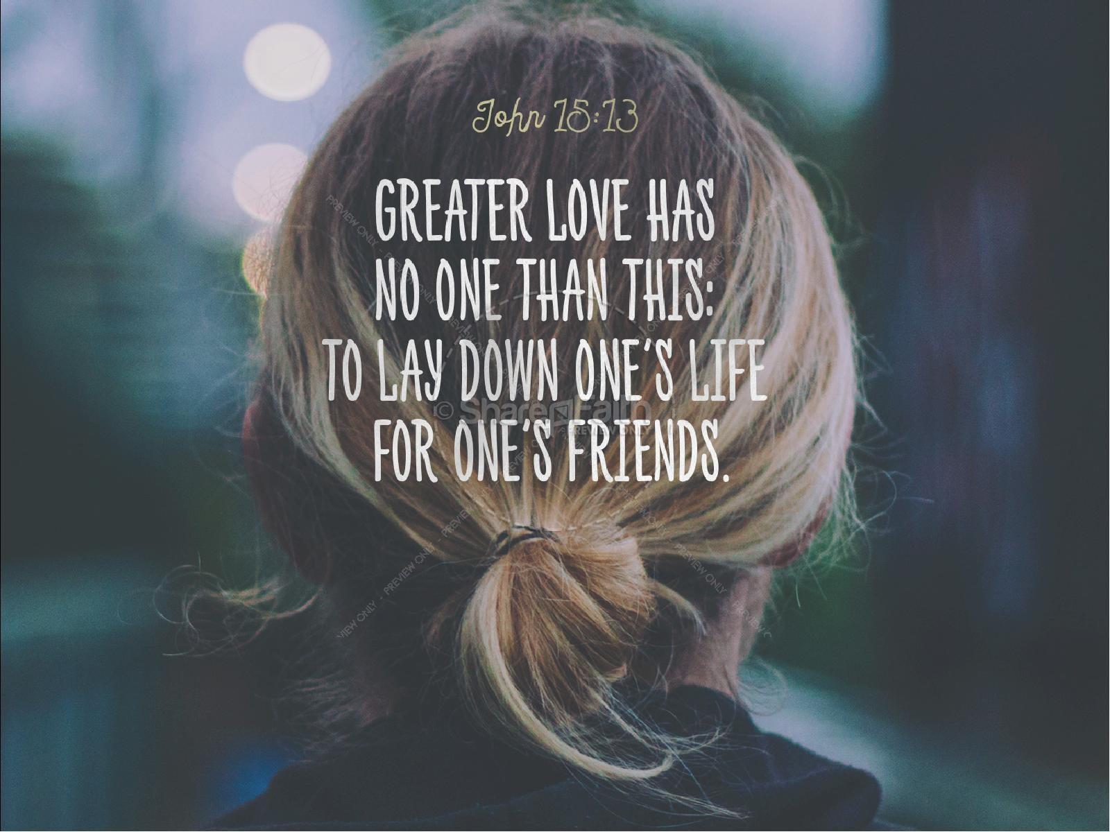 Jesus Loves Me Christian PowerPoint   slide 4