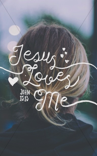 Jesus Loves Me Christian Bulletin