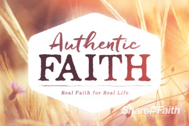 Authentic Faith Intro Video Loop