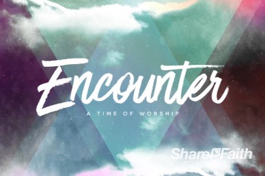 Worship Encounter Intro Video Loop